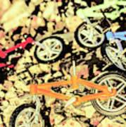 Rocky Racers Art Print