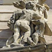 Rohan Palace Sculpture Art Print