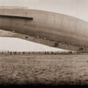 Roma Dirigible At Bolling Field Air Art Print
