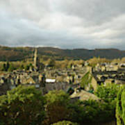 Rooftops Of Ambleside In Early Morning In The Lake District Art Print