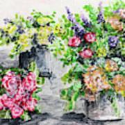 Rose Bundles Art Print