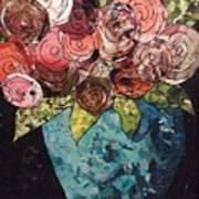 Roses For Nancy Art Print