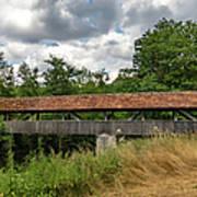 Rothenburg Covered Bridge Art Print