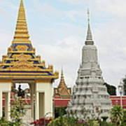 Royal Palace In Phnom Penh, Cambodia Art Print