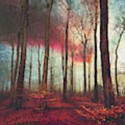 Ruby Red Evening Art Print