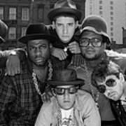 Run-dmc & Beastie Boys Art Print