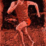 Runner 2 Art Print