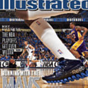 Running With The Mavs How Dallas Took Down The Mighty Lakers Sports Illustrated Cover Art Print