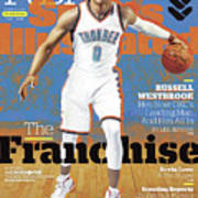 Russell Westbrook, The Franchise 2016-17 Nba Basketball Sports Illustrated Cover Art Print