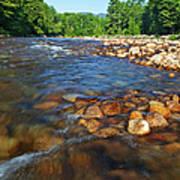 Saco River Rapids Art Print