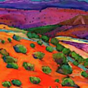 Sage Slopes Art Print