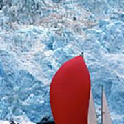 Sailboat Prince William Sound Alaska Art Print