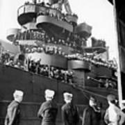 Sailors, Anticipating Shore Leave, Line Art Print