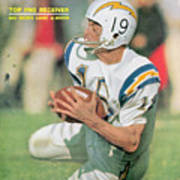San Diego Chargers Lance Alworth... Sports Illustrated Cover Art Print
