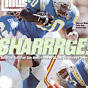 San Diego Chargers Natrone Means... Sports Illustrated Cover Art Print
