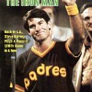 San Diego Padres Steve Garvey Sports Illustrated Cover Art Print