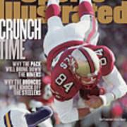 San Francisco 49ers Brent Jones, 1998 Nfc Divisional Sports Illustrated Cover Art Print