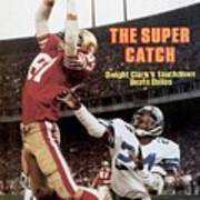San Francisco 49ers Dwight Clark, 1982 Nfc Championship Art Print