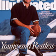 San Francisco 49ers Qb Steve Young Sports Illustrated Cover Art Print