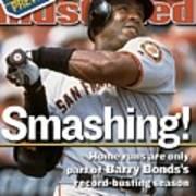 San Francisco Giants Barry Bonds... Sports Illustrated Cover Art Print