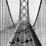 San Francisco-oakland Bay Bridge Art Print