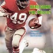 San Fransisco 49ers Earl Cooper Sports Illustrated Cover Art Print