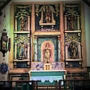 San Gabriel Mission No. 2, High Altar Art Print