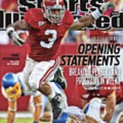 San Jose State V Alabama Sports Illustrated Cover Art Print