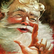 Santa 2017 Art Print