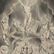 Satan Calling Up His Legions Art Print