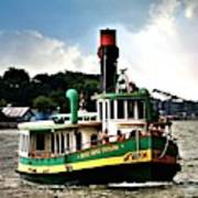 Savannah Belles Ferry Art Print