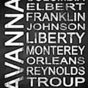 Savannah Ga 2 Art Print