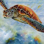 Save The Turtles Art Print