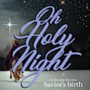 Savior's Birth Art Print
