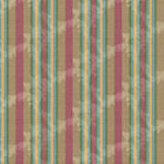 Scroll Stripe Cinnamon Art Print