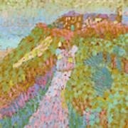 Sea And Dunes In Domburg Art Print
