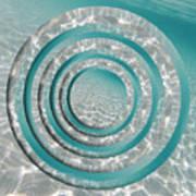 Seabed Circles Art Print