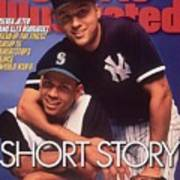 Seattle Mariners Alex Rodriguez And New York Yankees Derek Sports Illustrated Cover Art Print