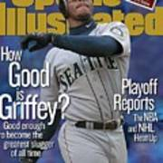 Seattle Mariners Ken Griffey Jr... Sports Illustrated Cover Art Print