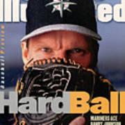 Seattle Mariners Randy Johnson, 1997 Mlb Baseball Preview Sports Illustrated Cover Art Print