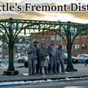 Seattle's Fremont District  Art Print