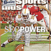Sec Power On Any Given Saturday The Southeastern Conference Sports Illustrated Cover Art Print