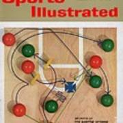Secrets Of The Shuffle Offense Sports Illustrated Cover Art Print