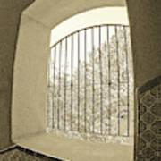 Sedona Series - Through The Window Art Print
