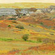 September In The Realm Of West Dakota Art Print