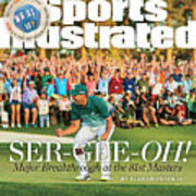 Ser-gee-oh Major Breakthrough At The 81st Masters Sports Illustrated Cover Art Print