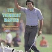 Seve Ballesteros, 1980 Masters Sports Illustrated Cover Art Print