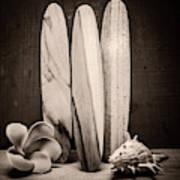 Seventies Surfing Art Print