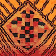 Shaman Tribal Badge Art Print