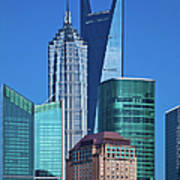 Shanghai Landmark Building Art Print